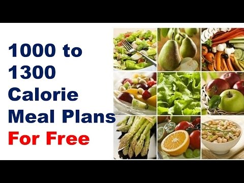 How to Lose 20 Pounds in 2 Weeks with this 1300 calorie diet plan