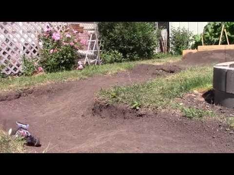 My small backyard dirt track