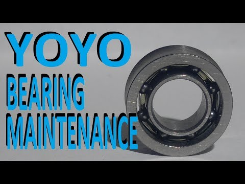 Yoyo Bearing Maintenance (Cleaning and Lubrication)