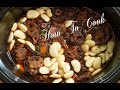 HOW TO COOK  JAMAICAN OXTAIL &  BUTTER BEAN SLOW COOKER STYLE RECIPE 2017