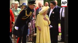 UK: QUEEN MOTHER CELEBRATES HER 99TH BIRTHDAY [V]