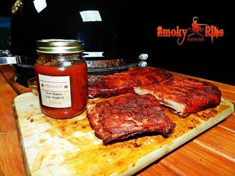 Texas Style BBQ Pork Spare Ribs Recipe