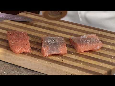 Sockeye Salmon with Butter Wine Caper Sauce