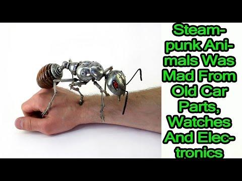 beautiful steampunk stuff, steampunk animals
