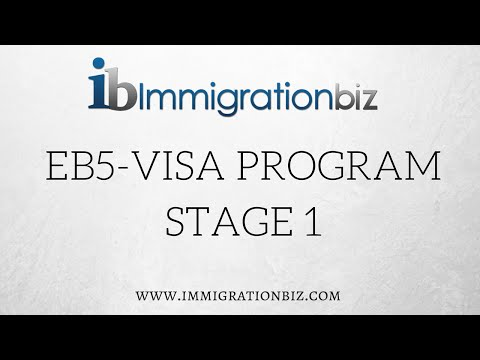 How to apply for Green Card: EB5 Visa Program - stage 1
