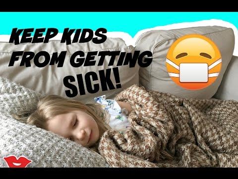 How To Keep Your Kids From Getting Sick! | Jaimie from Millennial Moms!