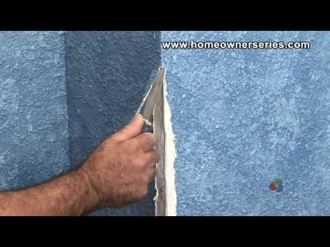 How to Fix a Wall - Repairing Corner Bead - Drywall Repair - Part 1 of 2