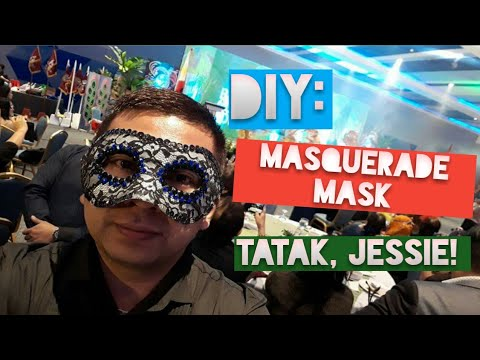 DIY Masquerade Mask (Simple yet Elegant)