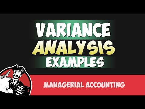 Variance Analysis, Calculate Price and Usage Variances (Cost Accounting Tutorial #44)