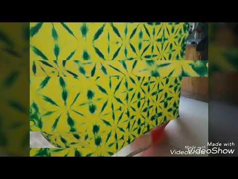 tie dye pattern technique sekka shibori  Title