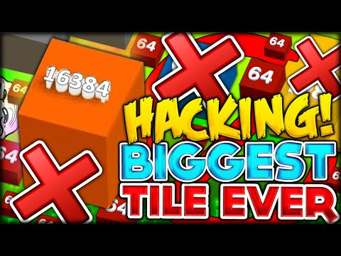 HACKING IN TILES.IO, CHEATING TO GET BIGGEST TILE EVER (IO GAMES - TILE RISERS #2)
