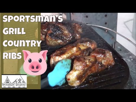 How to Cook Country Style Ribs on the Lodge Sportsmans Grill