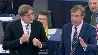 BREXIT: Farage takes savage swipe after EU