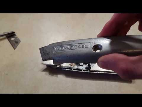 How to change the Blade on a utility knife