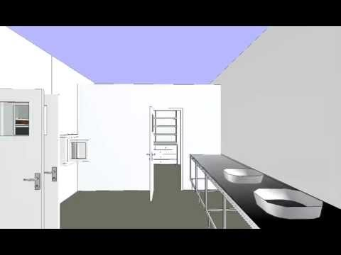Cleanroom 3D Fly through