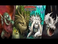 All 4 Legendary Dragons {Green Death,Screaming Death,Bewilderbeast,Foreverwing} Dragons rise of Berk