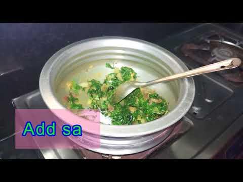 mentikura chikkudu kaya curry