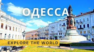 🇺🇦 ODESSA Walking Tour, Ukraine | ОДЕССА Украина | 4K Ultra HD 60fps