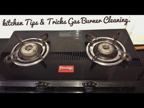 Kitchen Tips & Tricks   Kitchen Hacks India   Useful Kitchen Tips   Gas Burner cleaning in Hindi