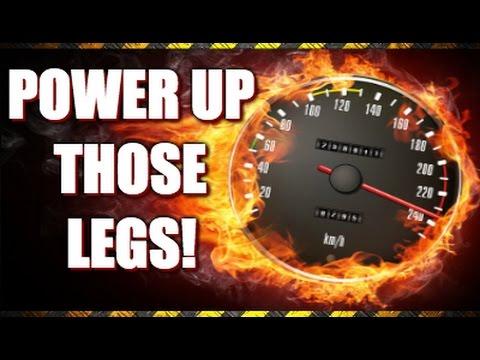 Explosive Leg Workout (Athletic Gains!)