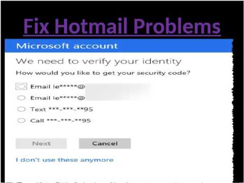 How to Get Hotmail Login Help