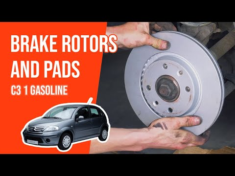 [ TUTORIAL GASOLINE CITROËN C3 ] How to change brake discs and pads