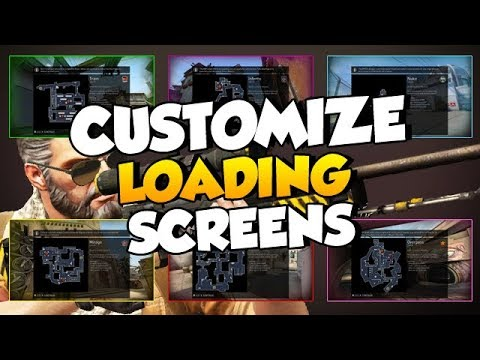 Customize the Map Loading Screens for CS:GO