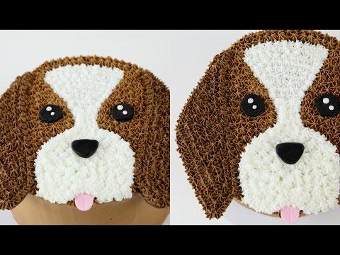 Amazing Cake Decorating DOG Cake!