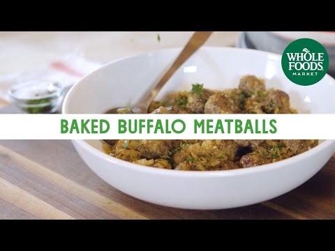 Baked Buffalo Meatballs | Freshly Made | Whole Foods Market