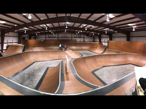 WORLDS BEST PRIVATE BMX PARK, THE UNIT
