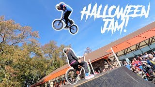 HIGH JUMP COMPETITION AT THE HALLOWEEN JAM!