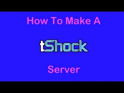 How To Set Up A TShock Server For Terraria