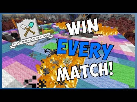 Minecraft PS4/Xbox One - HOW TO WIN EVERY TUMBLE MATCH! **TU41**
