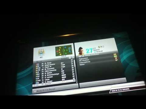 Fifa 12 Dream Team (Created on Career Mode)
