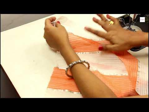 ऐसे करे स्कर्ट मे पिको बहुत ही सरल तरीका , How to do pico in very simple methed