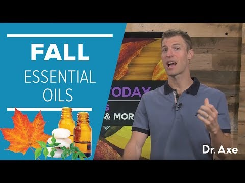 Fall Essential Oils for Colds, Sore Throats and More