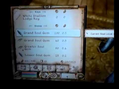 Grand Soul Gem Duplication Oblivion