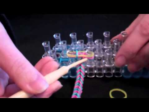 Rainbow Loom for Beginners Tutorial: How to Make a Fishtail Bracelet