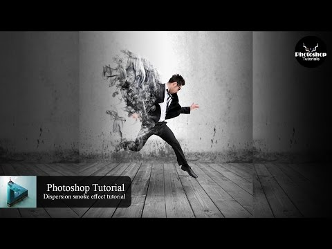Photoshop Tutorial | Dispersion smoke effects