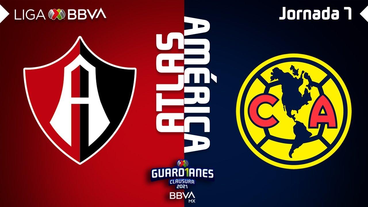 Resumen y Goles | Atlas vs América | Liga BBVA MX - Guard1anes 2021 - Jornada 7