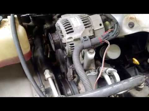1997 Toyota Camry power steering belt replacement