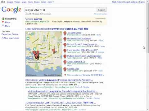 Local Search Results By Using Postal Codes