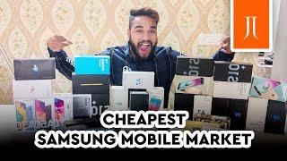 Cheapest Samsung Mobile Market in Delhi | Second Hand Samsung Mobile Market | JJ Communication |