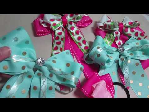Schooling in Style! | DIY Horse Show Bows