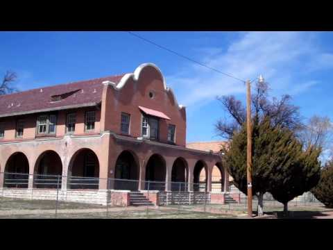 Amtrak Southwest Chief Chase: Wagon Mound to Lamy, New Mexico 3/4/17