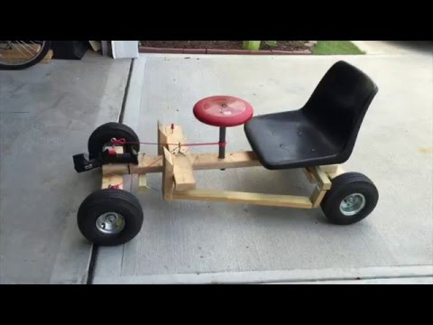 Go Kart- Drill Powered
