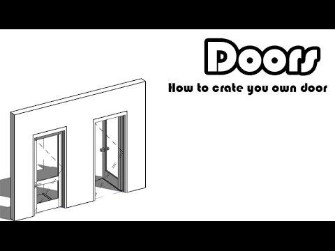 Learn Revit in 5 minutes: Door Family. Part 2 #9