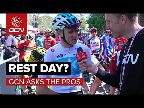What Do Pro Cyclists Do On A Rest Day? | GCN Asks The Pros At The Giro d'Italia