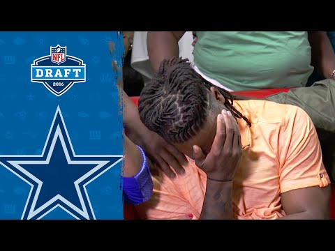 Jaylon Smith Gets Emotional When Cowboys Call | 2016 NFL Draft