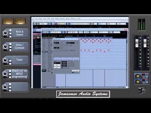 Metal Mixing Tips Episode 2 - Adding Realism to MIDI drum programming